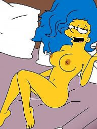 Milf cartoon, Simpsons
