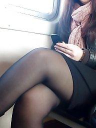 Pantyhose, Upskirt, Stockings