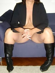 Amateur boots, Mature amateur, Amateur mature, Coat, Milf boots, Mature boots