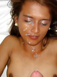 Amateur facial, Teen facials, Cum facial