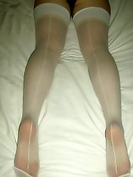 White stockings, White stocking, White ass, Stockings white, Ass white, Stocking white