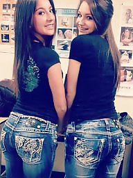 Jeans, Teen jeans, Jeans ass