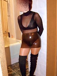 Latex, Amateur, Boots, Stockings