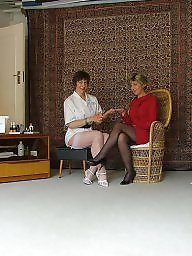 Mature stockings, Sara, Miss jones, Mature, Mature stocking