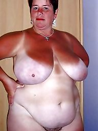 Granny, Bbw grannies, Granny bbw, Lingerie, Granny boobs, Busty granny
