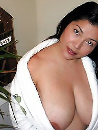 Mature big tits, Latin mature