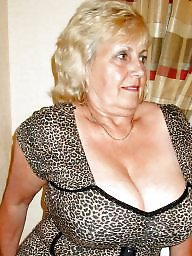 Sexy granny big boobs