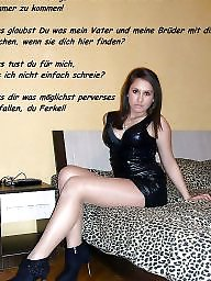 Femdom captions, German captions, Caption, Femdom caption, German, German caption