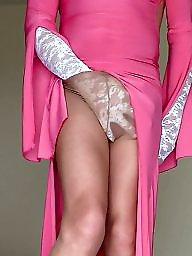 Pink stocking, Pink mature, Pink dress, Stockings dress, Stocking dressed, Stocking dress