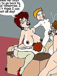 Cartoons old young, Mom, Young old cartoon, Mom cartoon, Old cartoon, Cartoons