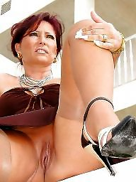 Mother, Horny milf, Mature stocking, Milf stockings, Horny mature, Stocking milf