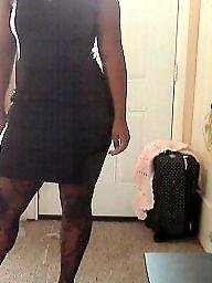 Ebony stockings, Black femdom, Dress, Ebony, Dressed, Femdom