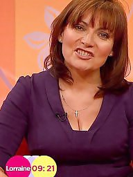 Cleavage, Celebrities, Celebrity, Lorraine kelly, Kelly, Big boobs