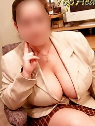 Secretary, Athena, Mature bbw, Mature boobs