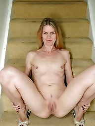 Wide, Milf, Blonde, Blond mature, Matures, Blonde milf