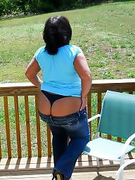 Public bbw, Bbw outdoor, Big ass, Fat, Round ass, Big fat ass
