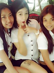 Young girl, Thai, Young girls