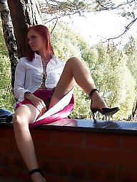 Riding babes, Riding, Rides, Ridees, Ridee, Redheads stockings