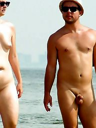 Nudists, Nudist beach