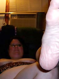 Feet, My wife, Fat, Bbw feet, Bbw wife