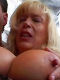 German milf, Mature big tits, Mature nipples, German, Mature tits, German mature