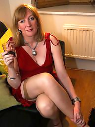 Dress, Dressing, Leeds, British, Stocking milf, Dressed