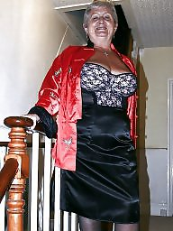 Bbw granny, Granny, Granny bbw, Clothed, Mature lingerie, Granny boobs