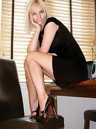 Legs, Mature upskirt, Heels, Upskirt