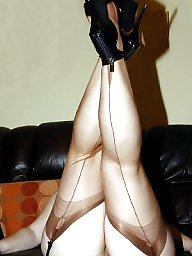 Nylons, Lady, Ladies, Wife stockings, Nylon, Lady b