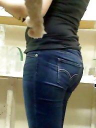 Jeans, Butt, Hidden cam