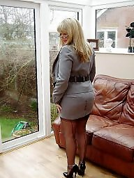 Stockings, Milf, Stocking, Office