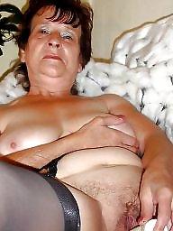 Bbw granny, Grannies, Lingerie, Clothed, Granny lingerie, Granny