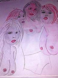 X-art, Tits cartoons, Tits cartoon, Tit cartoons, Tit art, Workes