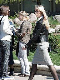 Pantyhose ass, Tight skirt, Tight, Skirt, Pantyhose, Tights