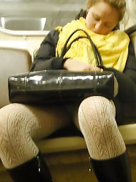 Upskirt hidden, Hidden cam, Train, Hidden