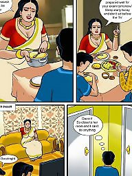 Aunty, Mature aunty, Mature cartoon, Comics, Comic