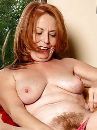 Redhead hairy, Granny hairy, Mature redheads, Mature pussy, Spreading, Granny spreading