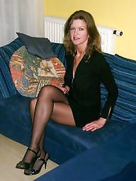 women stockings mature Elegant