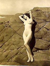 X erotic, Vintaged, Vintage maid, Vintage babe, Vintage b&w, Vintage