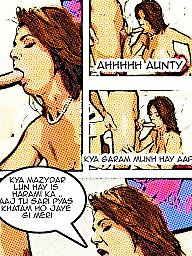 Aunty, Milf cartoon, Comic, Milf cartoons, Comics, Cartoon milf