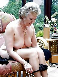 Mature, Hairy granny, Hairy mature, Big pussy, Granny tits, Granny pussy