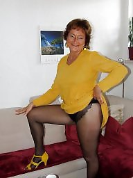Pantyhose mature, Mature stockings, Mature pantyhose