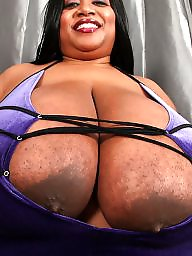 Wears big boobs, Wear big, Purple boobs, Purple, Naturals black, Natural ebony