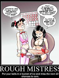 Femdom cartoon, Bdsm cartoons, Bdsm cartoon