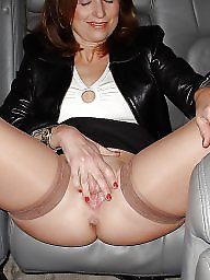 Blond mature, Mature stockings, Mature stocking, Sexy mature