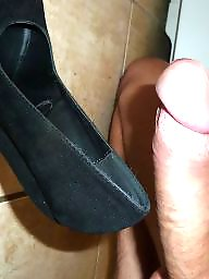 Cock flash, Heels, Big cock, Big cocks, High heels, Cock flashing