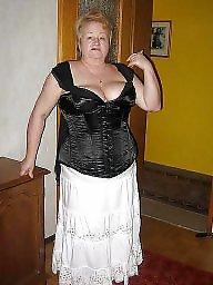 Grannies, Granny bbw, Granny, Lingerie, Bbw granny, Clothed