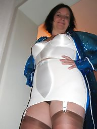 Girdles, Pvc, Raincoat, Hairy stockings, Hairy wife, Wife stockings