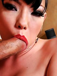 Dick, Interracial, Asian blowjob, Asian, Lips, Asian interracial