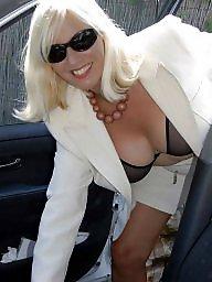 Sandy, Mature blonde, Sheer, Mature panties, Panties, Blonde mature